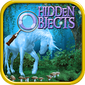 Hidden Objects Unicorn Dreams