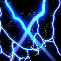 Electric X Blue Live Wallpaper icon