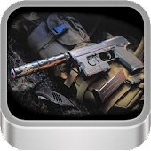 Army Gun .45 Live Wallpaper