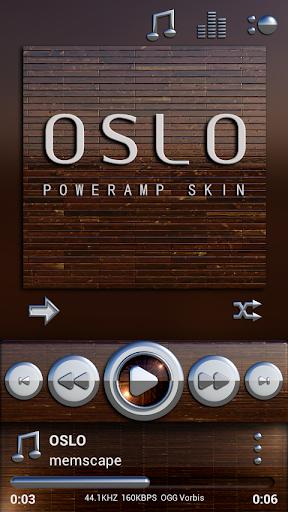 Poweramp skin Oslo