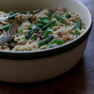 Tabasco & Asparagus Quinoa