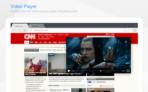 Baidu Browser for Tablet- screenshot thumbnail