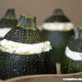 Zucchini Stuffed With Bush.