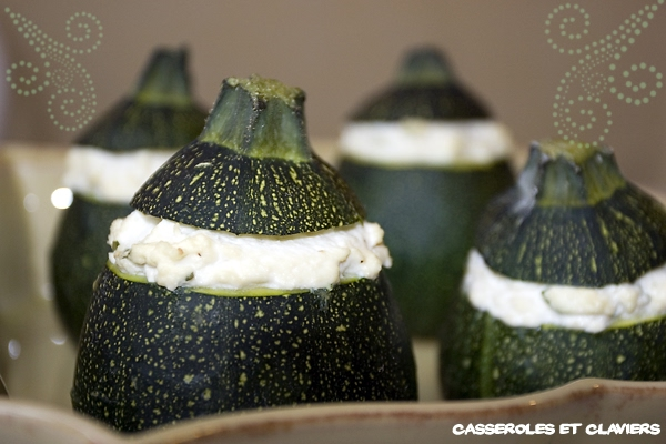 Zucchini Stuffed with Bush Recipe