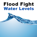 Flood Fight Water Levels logo