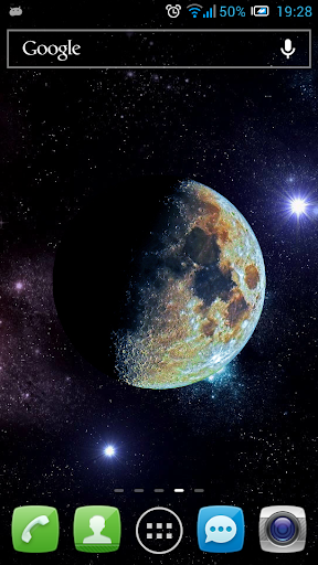 Moon in Color Live Wallpaper
