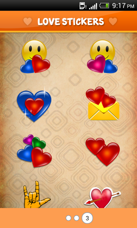Love Sticker - Chatting Icons - screenshot