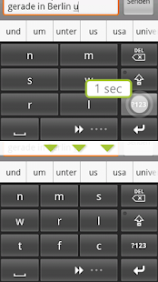 comfortTap Tastatur (DE) Beta- screenshot thumbnail