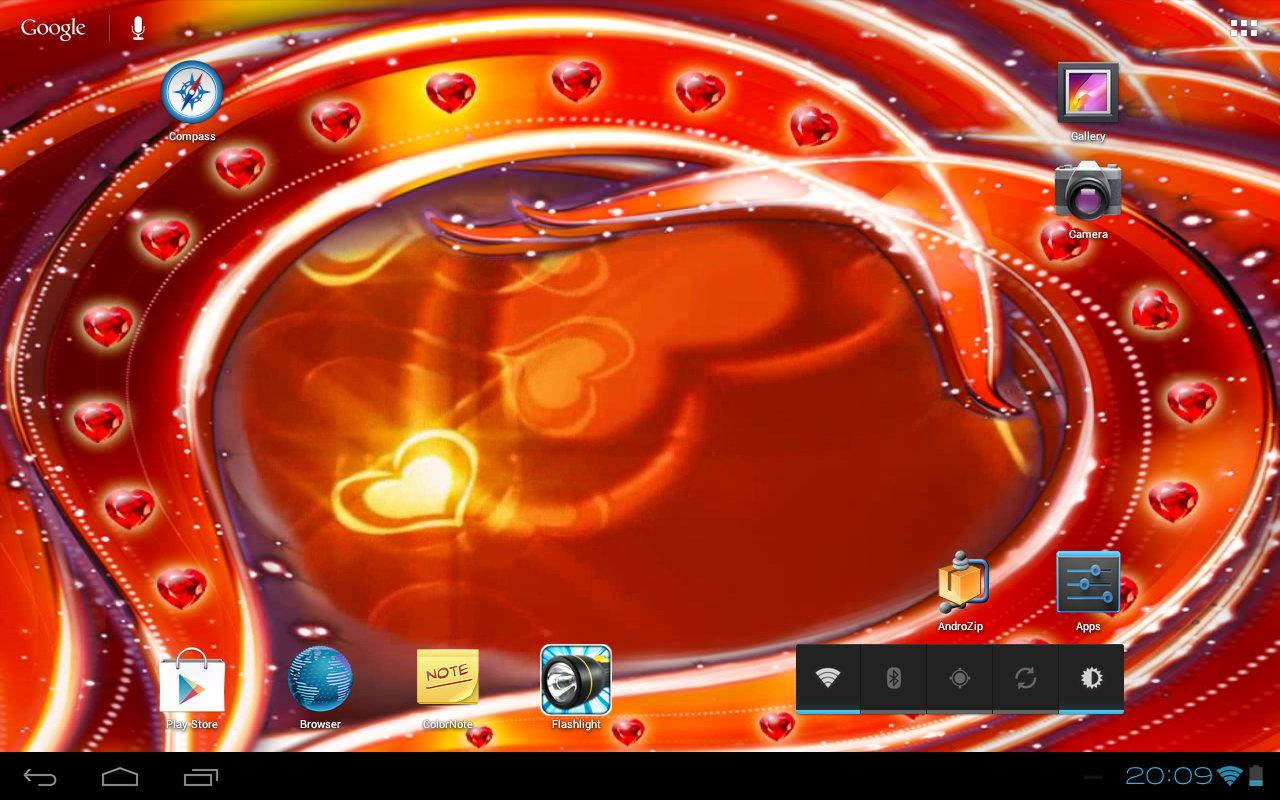 Valentine's Golden Hearts 3D- screenshot