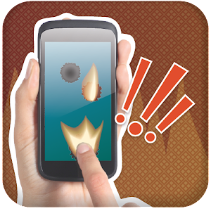Burn Phone Prank Icon