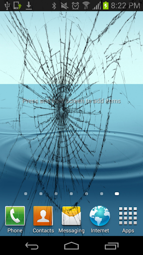 Crack Your Screen - Fake Crack