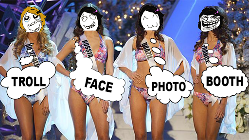 Troll Face Photo Booth