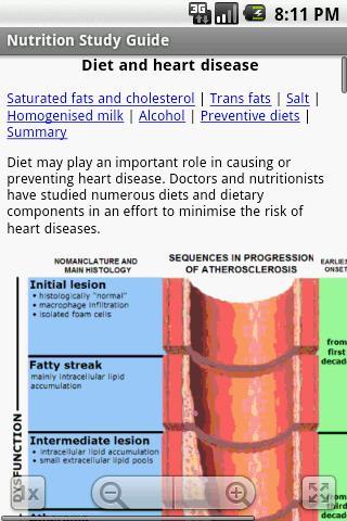 Nutrition Study Guide - screenshot