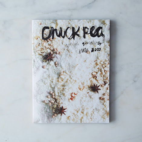 Chickpea Vegan Quarterly Issue 10; Winter 2013  with Set of 6 Modern Recipe Cards