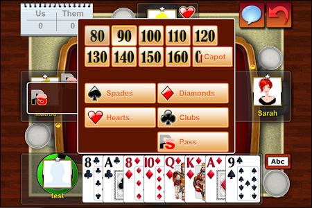 Belote Online Multiplayer beta 1.0.3 screenshot 359778