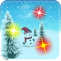 New Year Snowman LiveWallpaper icon