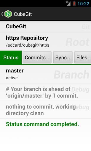 CubeGit - Android git client