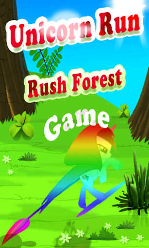 Unicorn Run Rush Forest