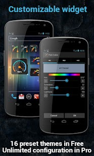 Gauge Battery Widget Pro