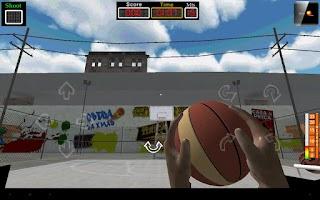 Screenshot of BasketBall