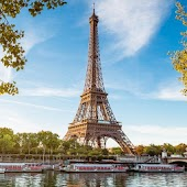 Eiffel Tower Paris France LWP