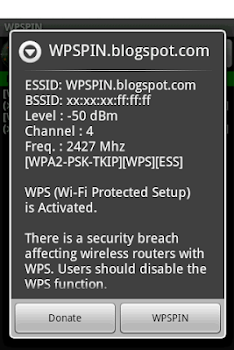 WPSPIN. WPS Wireless Scanner.