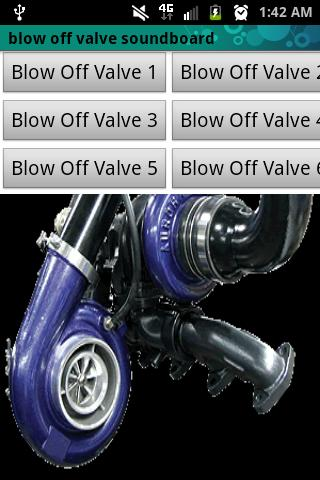 Blow Off Valve Soundboard Lite- screenshot