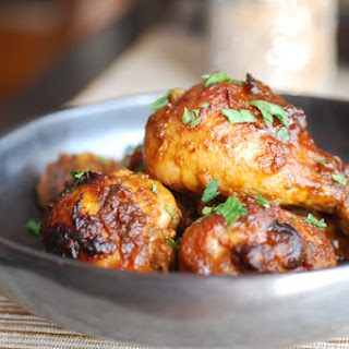Whiskey Orange Chipotle Chicken.