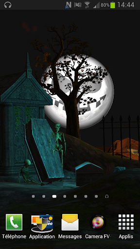 Fond d'écran 3D Halloween