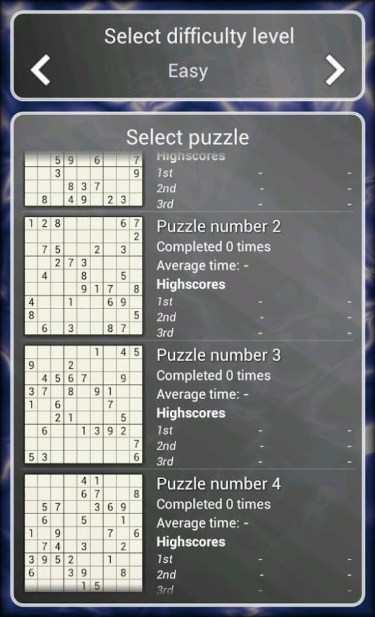 Sudoku Puzzle Free- screenshot