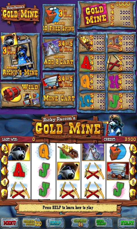 gold miner slot machine