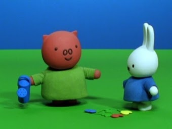 Miffy Gets Help from Poppy Pig/Miffy's and Aggie's Teddy Bears