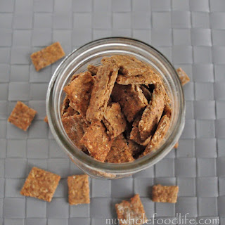 Healthy Toddler Crackers.