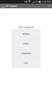 CNT craigslist app- screenshot thumbnail