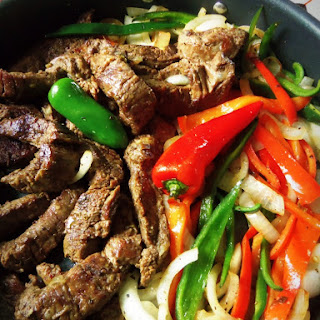 Beef Fajitas.