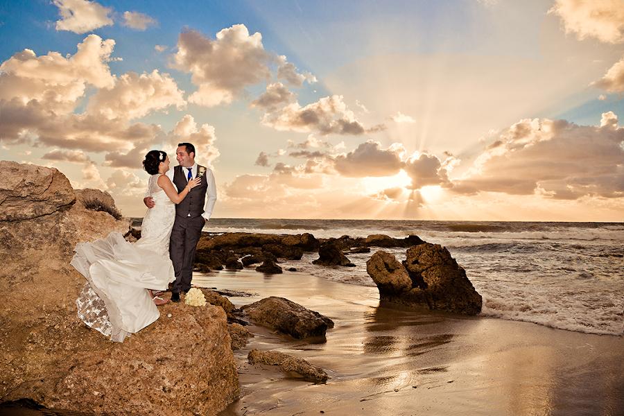 Killer sunset by Mandy Christodoulou - Wedding Bride & Groom ( cyprus wedding photographer, wedding photographer in cyprus )