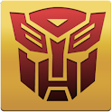 Transformers clock widget logo