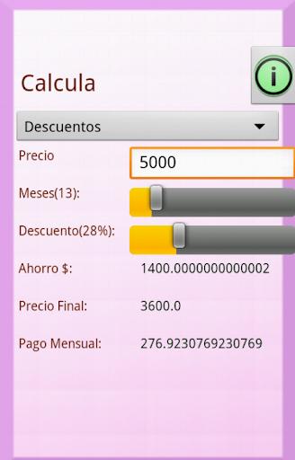 Calculadora de Descuento