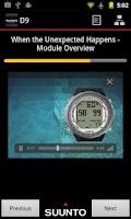 Screenshot of Suunto Dive Computers