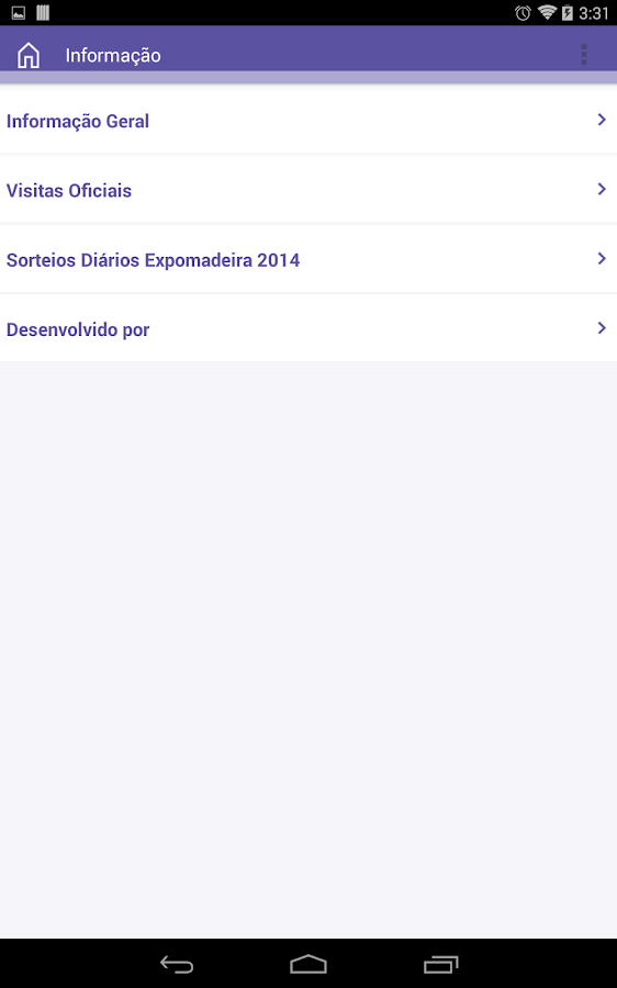 Expomadeira 2014 - screenshot