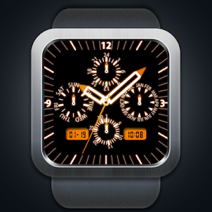 A15 WatchFace for Android Wear - náhled