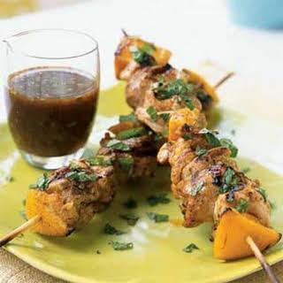 Mediterranean Grilled Chicken Kebabs.