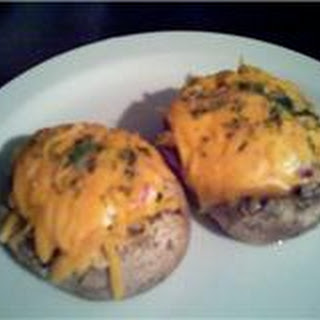 Stuffed Cheesy Mushroom