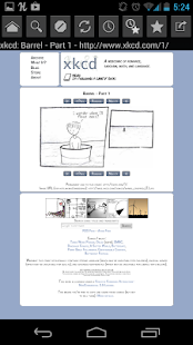 Web Comic Reader - screenshot thumbnail