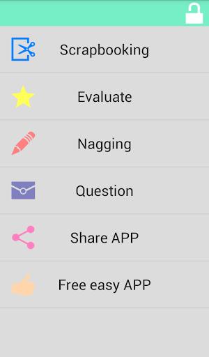 Scrapbooking - Simple Notepad