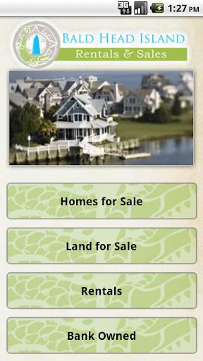Bald Head Island Rentals Sales