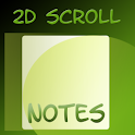 2D Scroll Notes logo