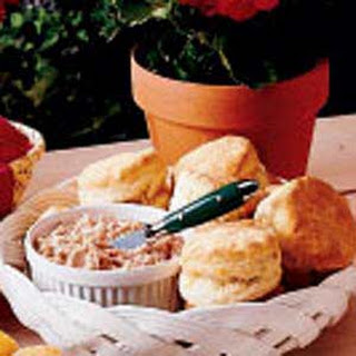 Biscuits with Ham Butter.