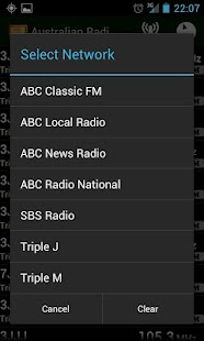 Australian Radio Guide- screenshot thumbnail