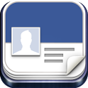 Facebook NameCard Businesscard icon